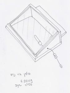 סקיצת שולחן אור